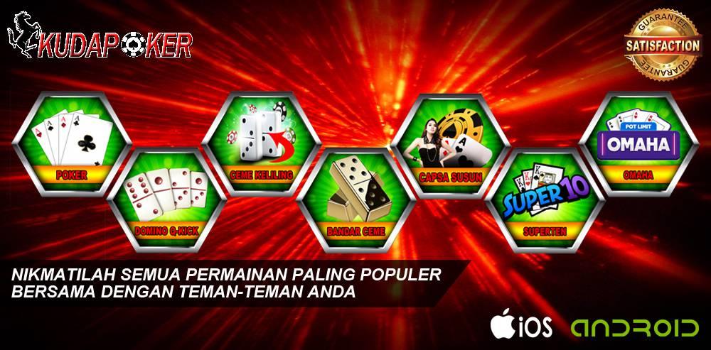 Pokerkuda.net : Situs Poker Online Dengan Banyak Keuntungan